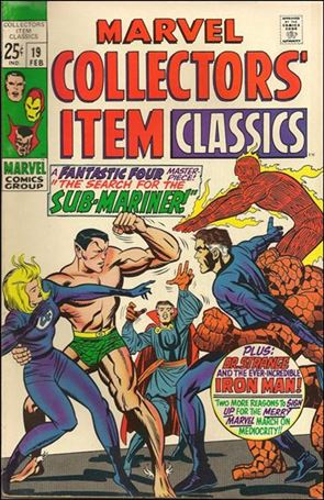 Marvel Collectors' Item Classics 19-A
