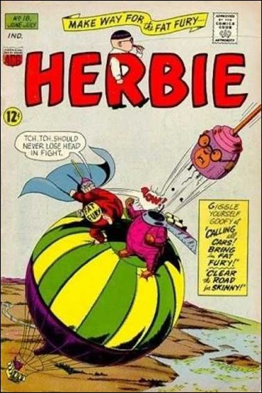 Herbie (1964) 18-A by American Comics Group (ACG)