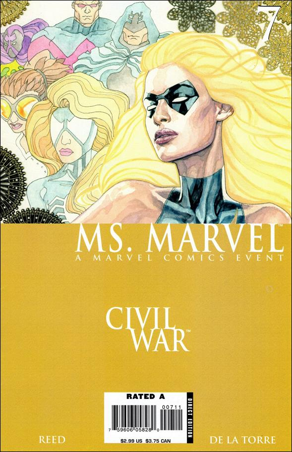 Ms. Marvel (2006) 7-A by Marvel
