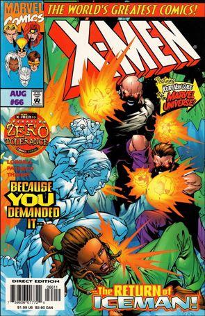 X-Men (1991) 66-A