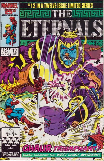 Eternals (1985) 12-A by Marvel