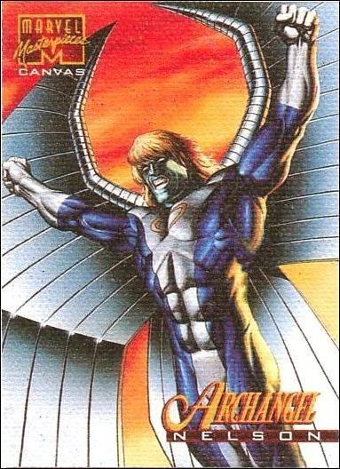 1995 Marvel Masterpieces (Canvas Subset) 1-A by Fleer