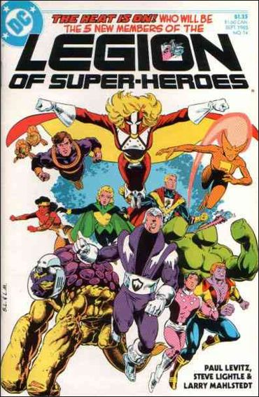 Legion of Super-Heroes (1984) 14-A by DC