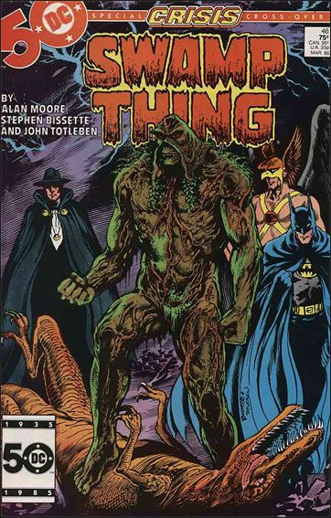 Swamp Thing (1986) 46-A by Vertigo