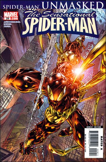 Sensational Spider-Man (2006) 29-A by Marvel