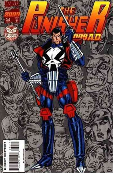 Punisher 2099 (1993) 34-A by Marvel