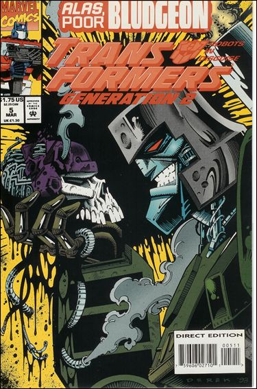 Transformers: Generation 2 (1993) 5-A by Marvel