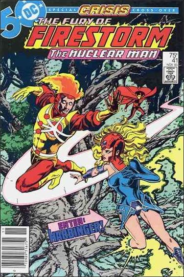 Fury of Firestorm 41-A by DC