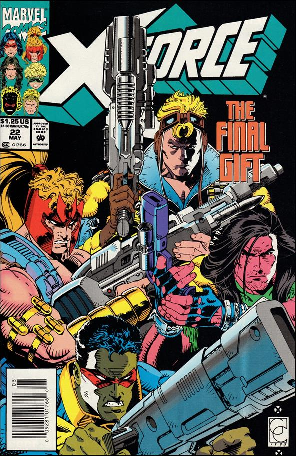 X-Force (1991) 22-A by Marvel