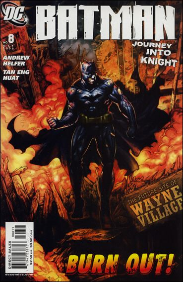 Batman: Journey into Knight 8-A by DC