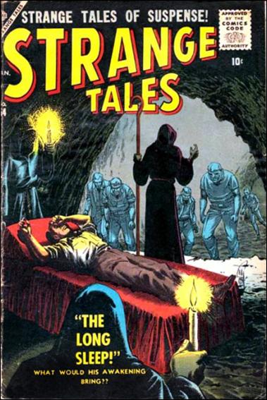 Strange Tales (1951) 54-A by Marvel
