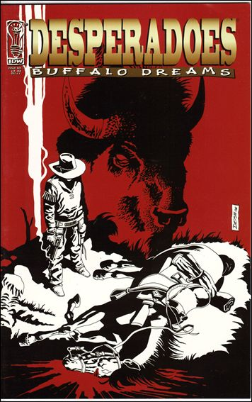 Desperadoes: Buffalo Dreams 1-A by IDW