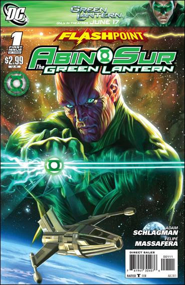 Flashpoint: Abin Sur - The Green Lantern 1-A by DC