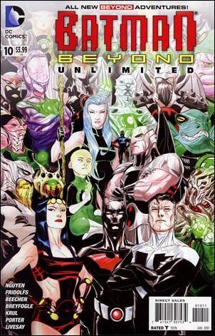 Batman Beyond Unlimited 10-A by DC
