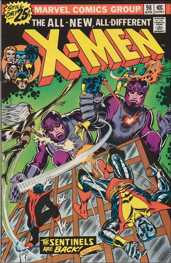 X-Men (1963) 98-A by Marvel