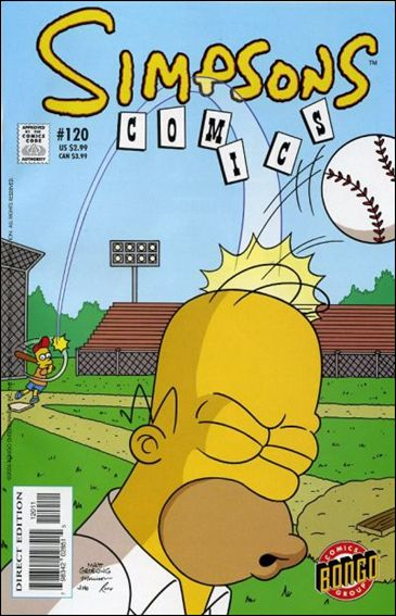 Simpsons Comics 120-A by Bongo