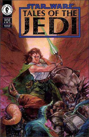 Star Wars: Tales of the Jedi 5-A by Dark Horse