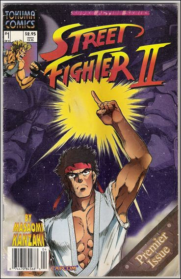 Street Fighter II (1994) 1-A by Tokuma Comics