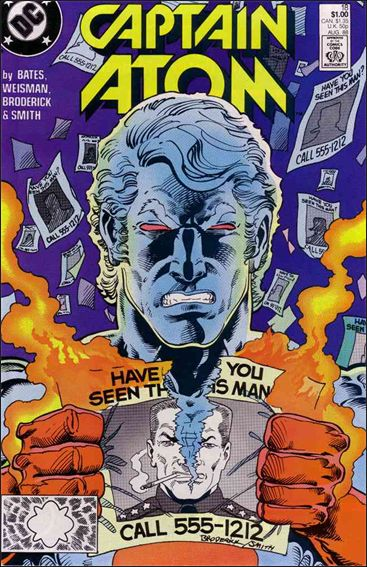 Captain Atom (1987) 18-A by DC
