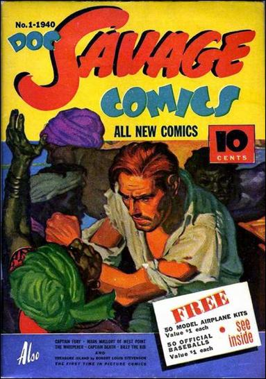 Doc Savage Comics (1940) 1-A by Street and Smith Publications
