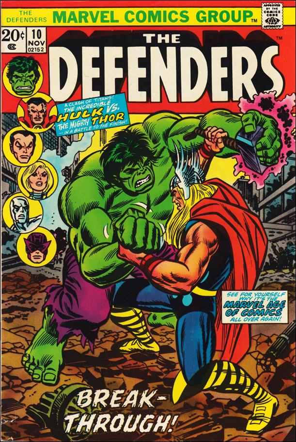 Defenders (1972) 10-A by Marvel