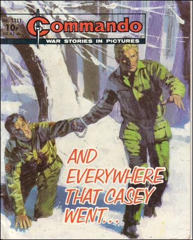 Commando (UK) 1311-A by D. C. Thomson