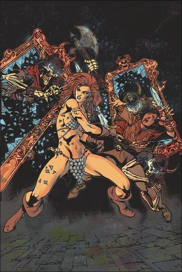 Killing Red Sonja 4-F by Dynamite Entertainment