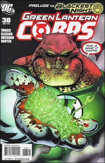 Green Lantern Corps (2006) 38-A by DC