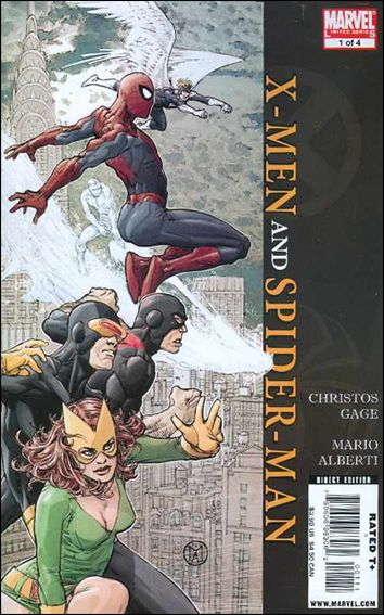 X-Men/Spider-Man 1-A by Marvel