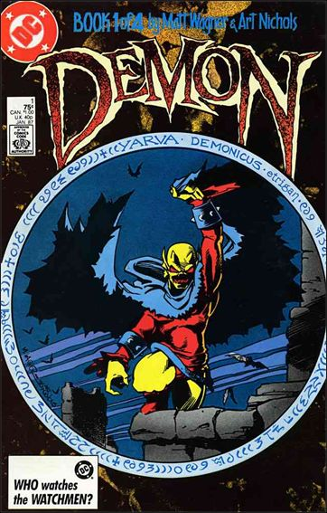 Demon (1987) 1-A by DC
