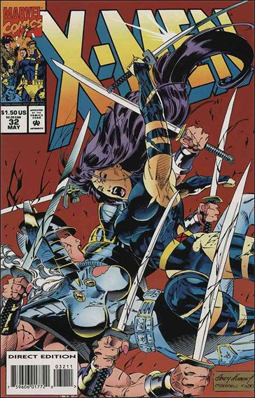 X-Men (1991) 32-A by Marvel