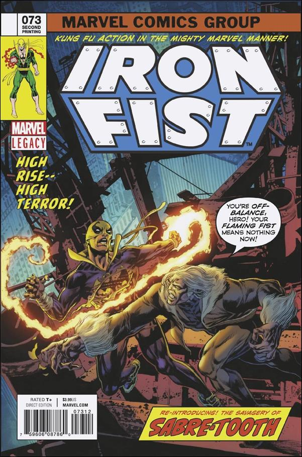Iron Fist (1975) 73-D by Marvel