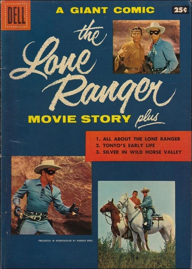Lone Ranger Movie Story 1-A by Dell