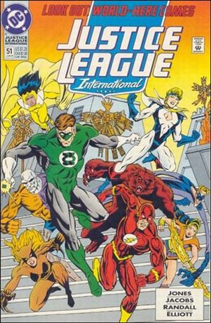 Justice League International (1993)  51-A