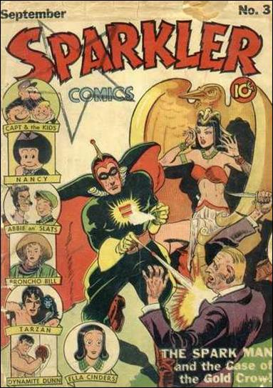 Sparkler Comics (1941) 3-A by United Features Syndicate