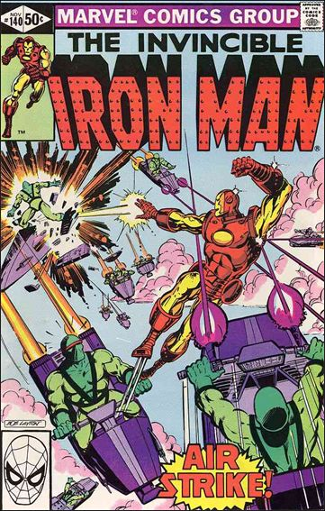 Iron Man (1968) 140-A by Marvel