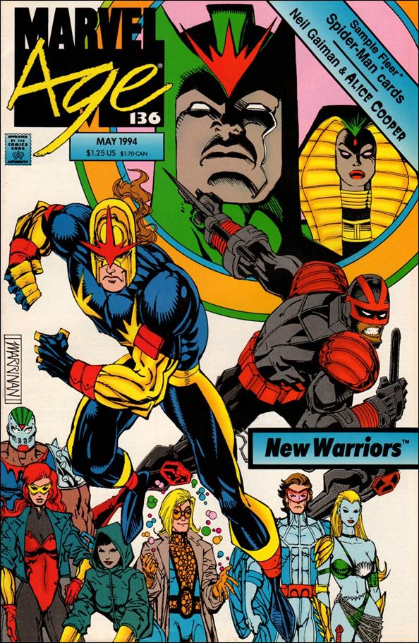 Marvel Age 136-A by Marvel