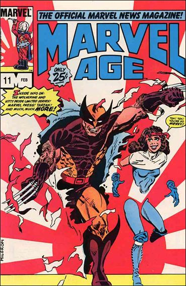 Marvel Age 11-A by Marvel