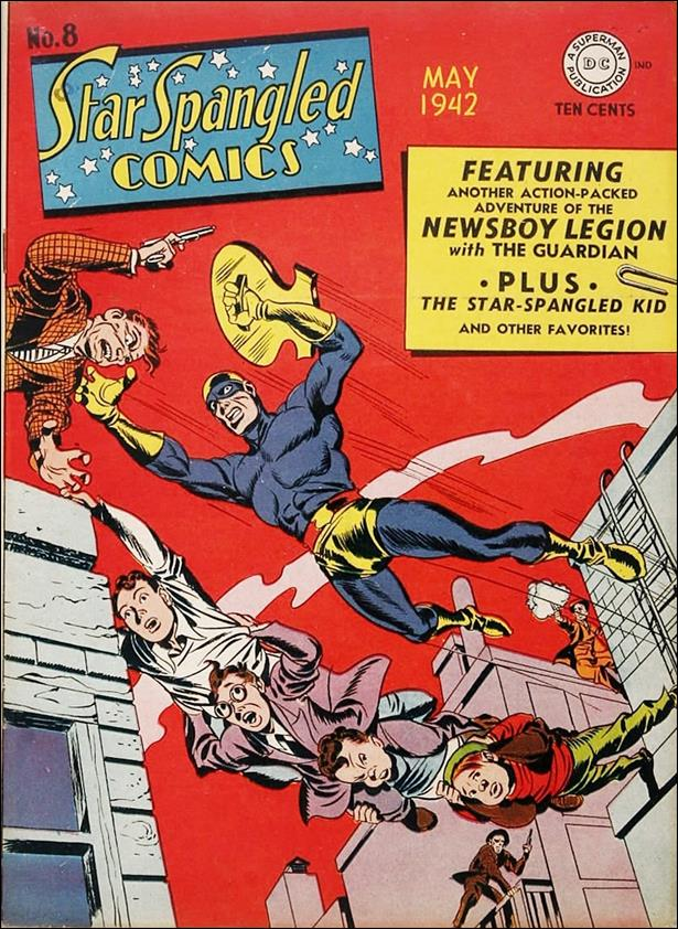 Star Spangled Comics (1941) 8-A by DC