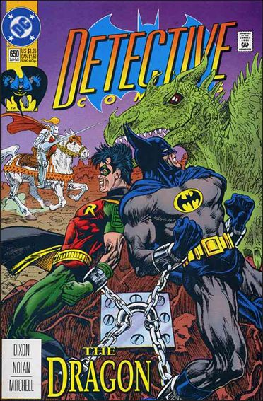 Detective Comics (1937) 650-A by DC