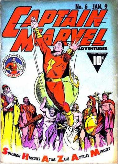 Captain Marvel Adventures 6-A by Fawcett