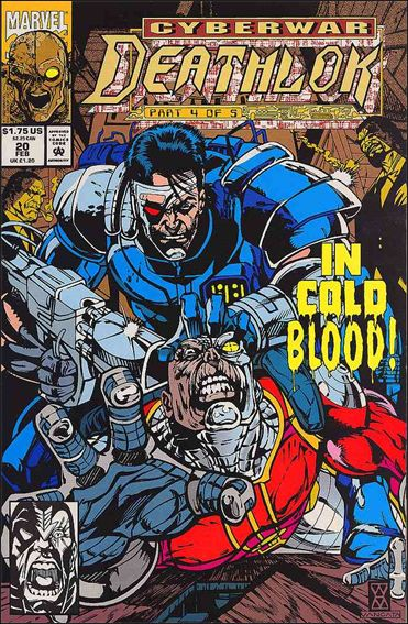 Deathlok (1991) 20-A by Marvel