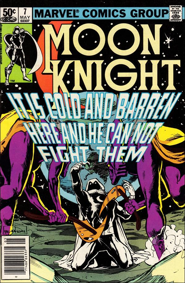 Moon Knight (1980) 7-A by Marvel