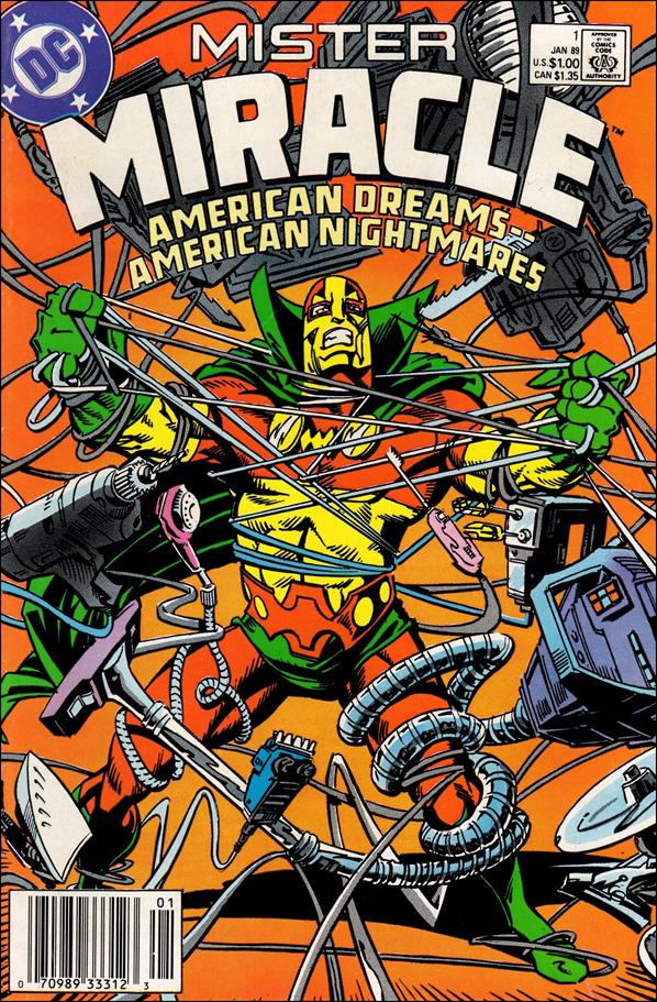 Mister Miracle (1989) 1-A by DC