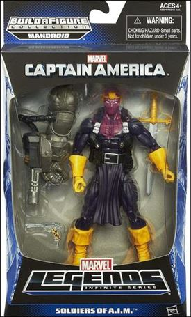 Marvel Legends Infinite: Captain America (Mandroid Series) Soldiers of A.I.M. (Baron Zemo)