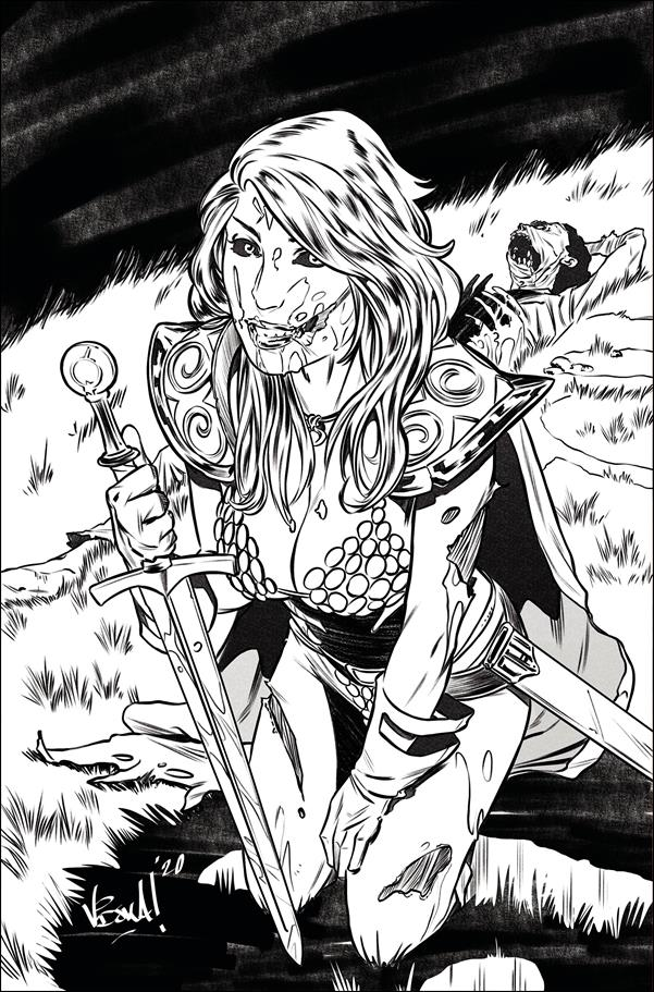 Red Sonja: The Superpowers 1-G by Dynamite Entertainment