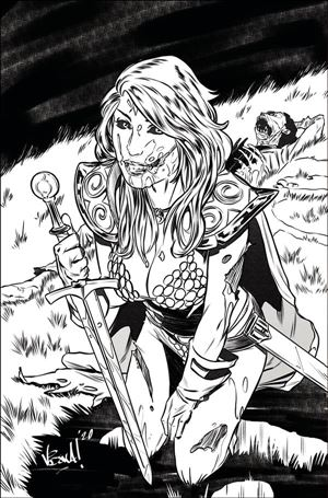 Red Sonja: The Superpowers 1-G