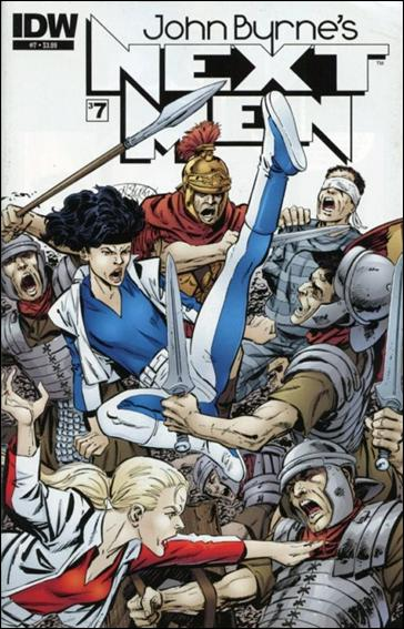 John Byrne's Next Men (2010) 7-A by IDW