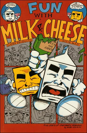 Fun with Milk & Cheese 1-A by Slave Labor Graphics (SLG) Publishing