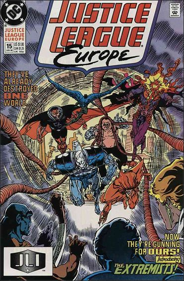 Justice League Europe 15-A by DC
